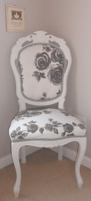 How to Re-Upholster A Chair: Bring new life to an old or second-hand chair with great bones by re-upholstering it.
