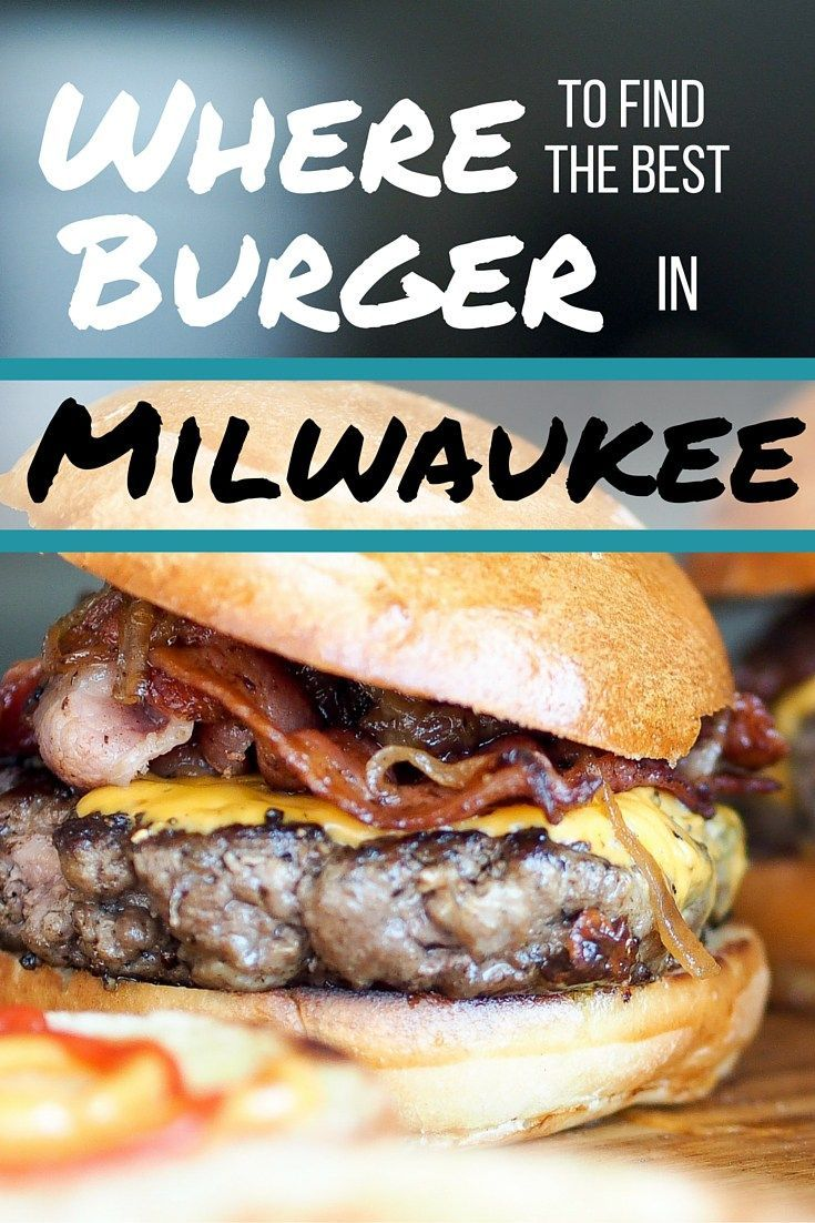 Milwaukee, Wisconsin is the burger capitol of the US! Don't leave town without getting your hands on one (or more!) of the best burgers in Milwaukee.