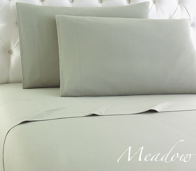 peaceful sleep awaits you in our meadow micro flannel sheets our green grey sheets - Flannel Sheets Queen