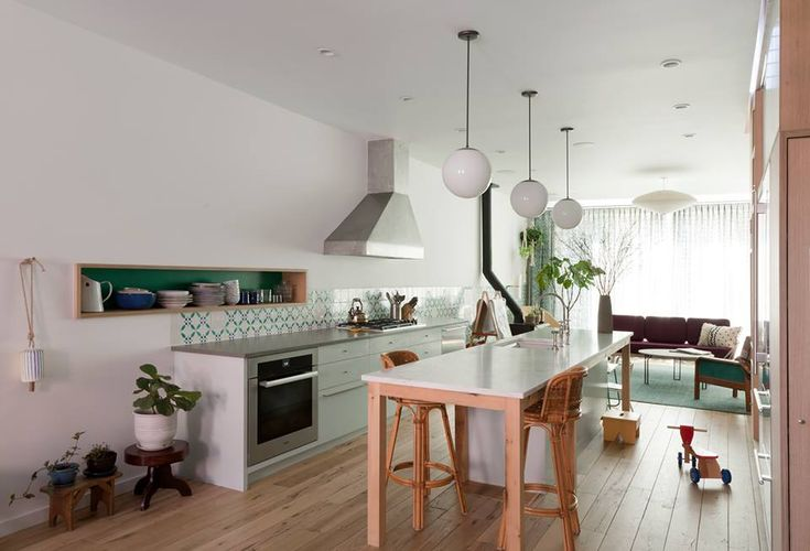 Red Hook Brooklyn Townhouse Renovation by Rafe Churchill