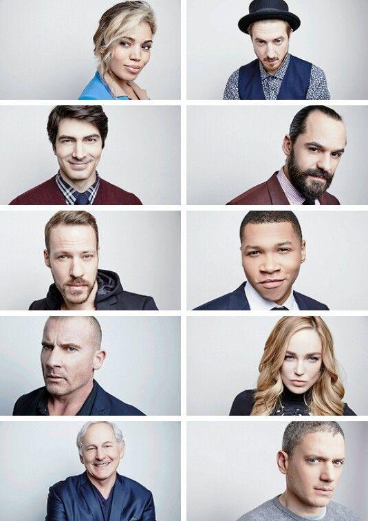 The Legends of Tomorrow cast photographed by Maarten De Boer #TCA16