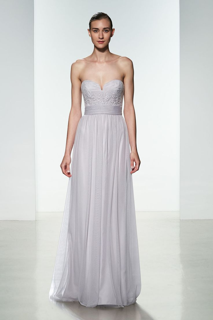 35 best spring 2016 amsale bridesmaids images on pinterest beautiful inverted v halter bridesmaids dress from amsale shown in sage ombrellifo Images