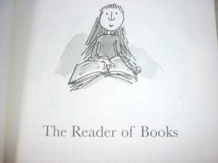 Matilda, Roald Dahl.    Illustrated by Quentin Blake.