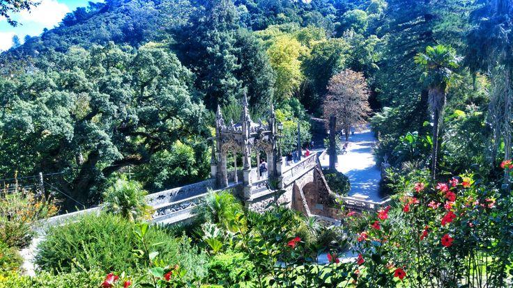 Quinta da Regaleira #sintra #portugal #lisboa #travel #city #tower