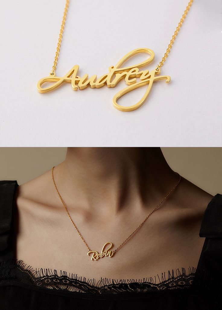 Pin On Name Necklace