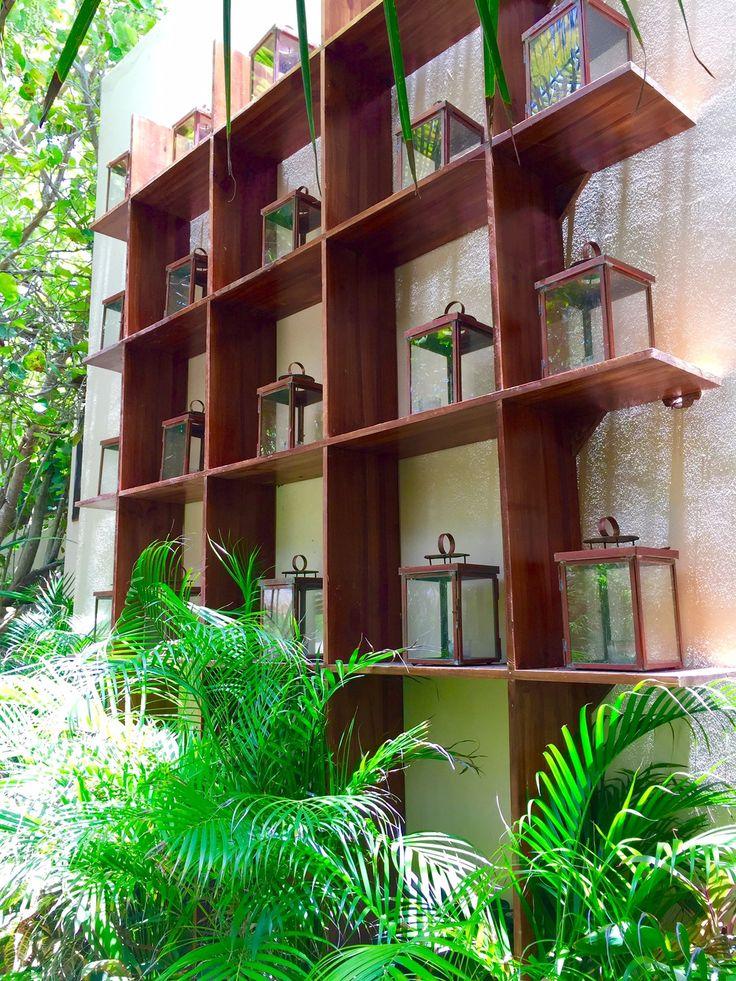 La Zebra Boutique Hotel Tulum Mexico Pathway Decor