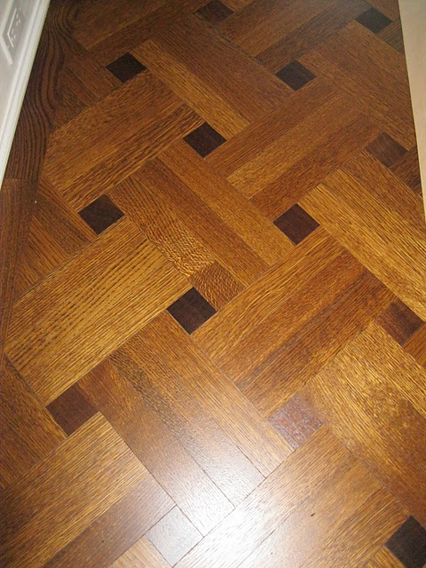 gorgeous wood floor design :) this would look great going down our hallway