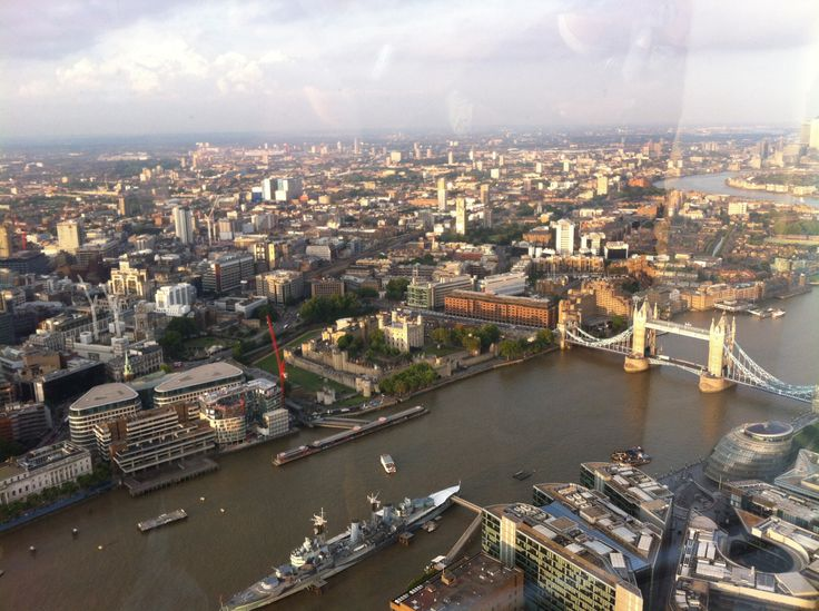 View from the Shard!