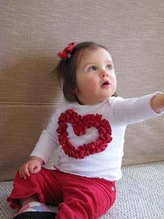 valentine baby!: Shower Ideas, Diy Valentines Day, Outfit Ideas, Day Outfit, Heart Shape, Heart Shirts, Baby Girls, Ruffles Shirts, Baby Shower