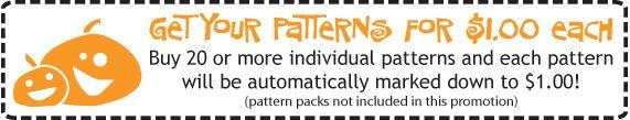 Pumpkin Carving Pattern Sale
