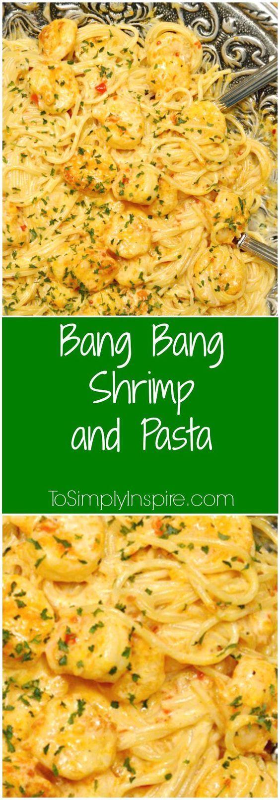 nice Bang Bang Shrimp and Pasta