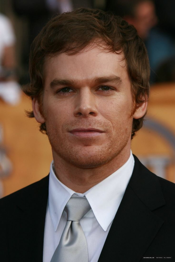 Micheal C. Hall, He's a famous actor, he's really famous for playing Dexter Morgan in the TV show Dexter. I chose Micheal because he's one of my favorite actors and I loved Dexter