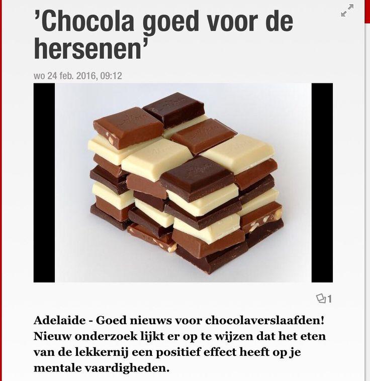 Geen chocola van te maken