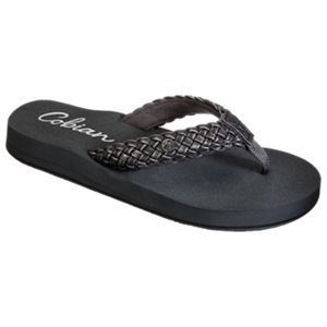 Cobian Braided Bounce Sandals for Ladies - Charcoal - 10 M