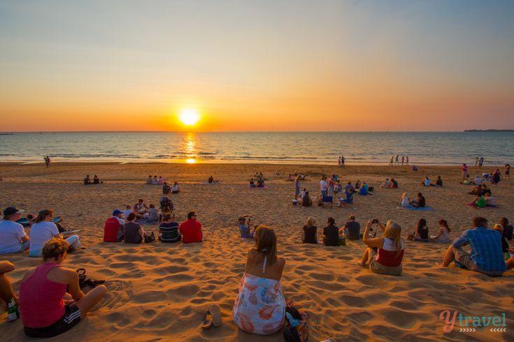 Sunset at Mindil Beach, Darwin - Australia