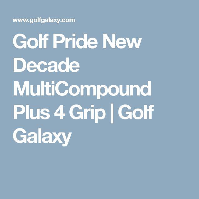 Golf Pride New Decade MultiCompound Plus 4 Grip                                                                                  | Golf Galaxy