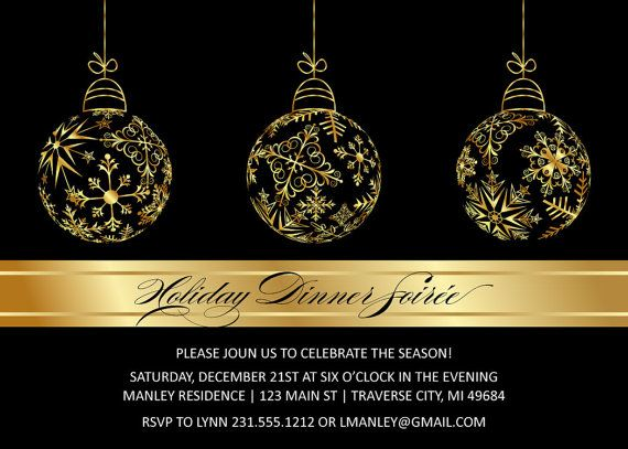 42 best Christmas Party Invitations images on Pinterest