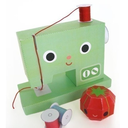 paper sewing machine from @fantastic toys. check out all their other awesomely fantastic stuff!