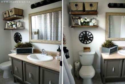 Super Bath Room White Small Shelves Above Toilet 52+ Ideas   – {Bath}