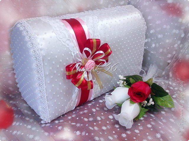 Мастер-класс Поделка изделие Свадьба Картонаж Свадебная казна МК Картон Клей Коробки Ленты Ткань фото 1
