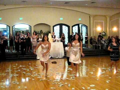 Armenian dance at a wedding...I'm not really sure what's going on here, but the dance is nice. I think it's called tash toosh? Maybe?