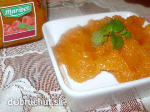 Fotorecept: Džem z tekvice Hokaido s pomarančom