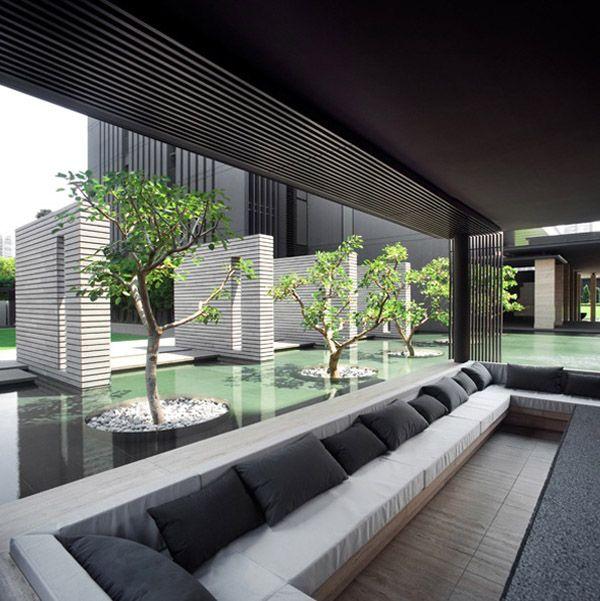 2510 best Architecture images on Pinterest Home ideas, Modern - charmantes appartement design singapur