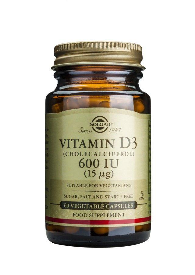 Vitamin D3 600IU - 60 vegetable capsules.jpg