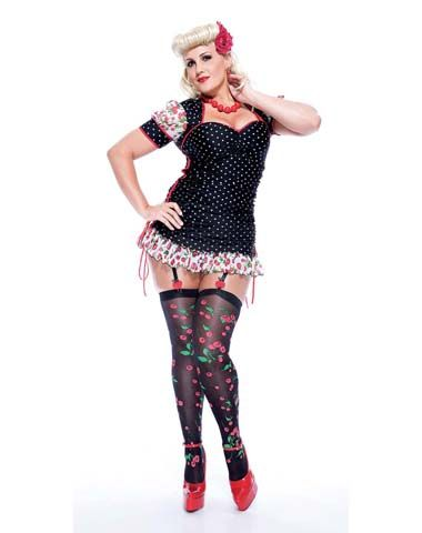 French Kiss Adult Womens Plus Size Costume