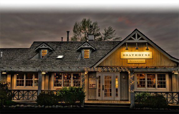 The Boathouse Restaurant, Old Mission Penninsula, Traverse City, MI, USA