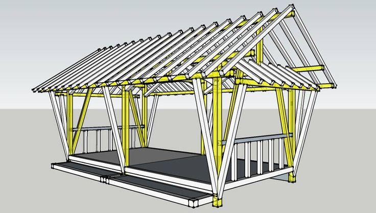 rumahSKETCH.com: Konsultasi : Saung Bambu 3x6 M2 Atap Alang-alang