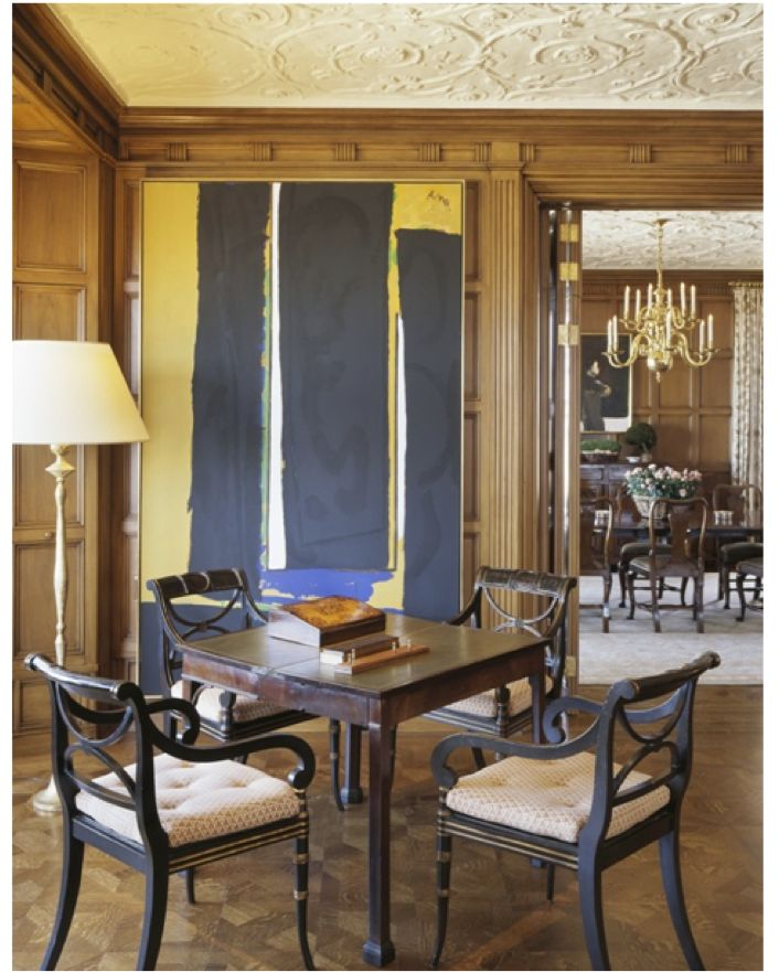 Dining Room Art The Classic Interiors Of Suzanne Tucker