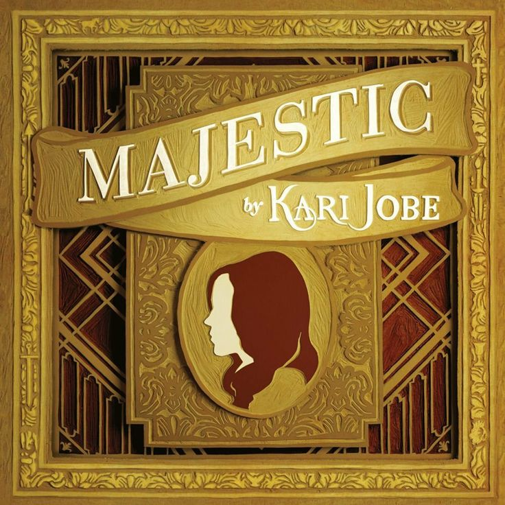 Kari Jobe Majestic (Live) CD 2014 Rebecca: my mom is a HUGE fan of this CD, every time she listens to it, she just wont stop singing it!!!:)