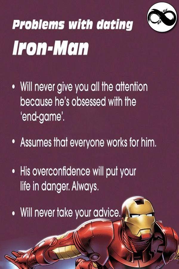 Ironman Jokes Superhero Facts Boyfriend Material Jokes