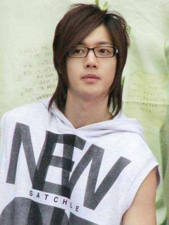 Kim Hyun Joong Glasses Long Hair Kpop Kdrama