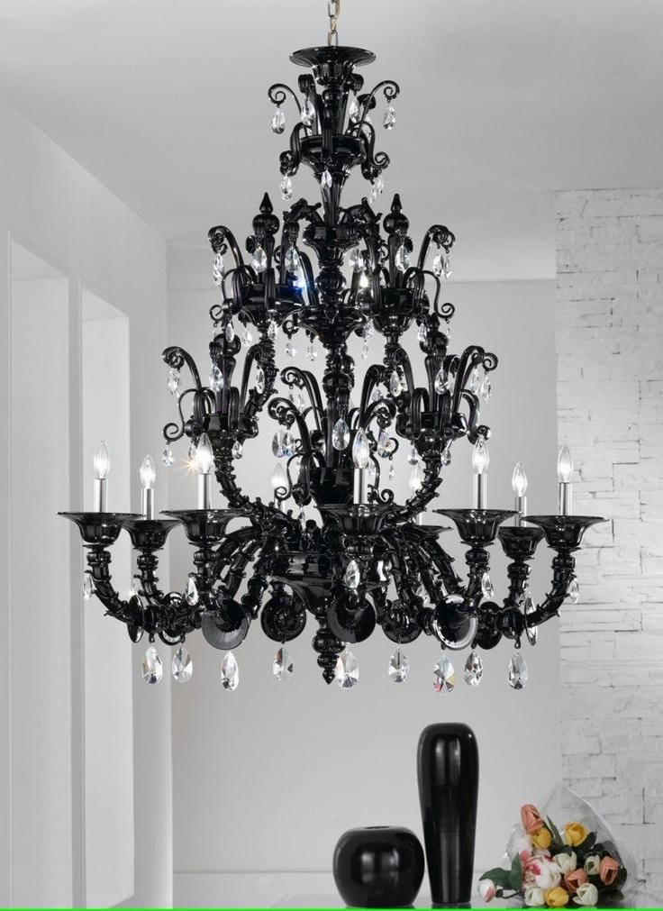 Black Chandelier - idea for Charlotte's room?