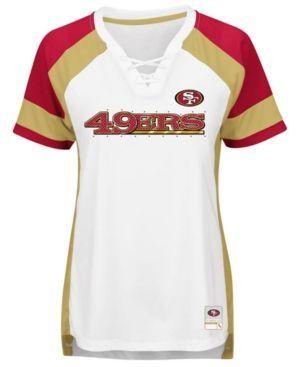 Majestic Women's San Francisco 49ers Draft Me T-Shirt - White XXL