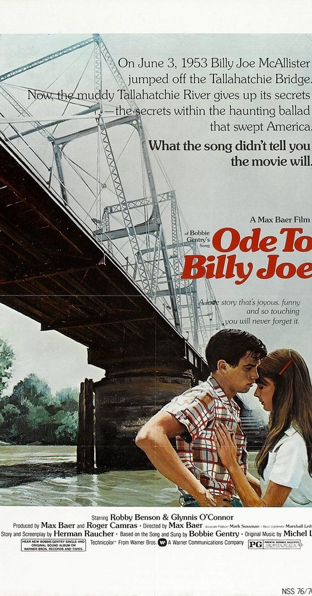 Directed by Max Baer Jr.. With Robby Benson, Glynnis O'Connor, Joan Hotchkis, Sandy McPeak. Billy Joe confesses his love to the lovely Bobbi Lee only to cover his growing fear that he may, in fact, be homosexual. One night, at a barn dance, he gets a little drunk and rather than going with the hired whores, gives into his desires and sexual relations with an unnamed man. The guilt causes him to run away, hide in the woods and eventually confess everything to Bobbi Lee who doesn't wan...