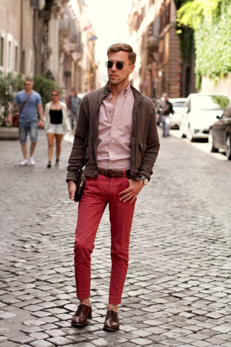 Filippo Cirulli Of Thethreef Fashion Blog Is Wearing Fabi Shoes In Rome Fabi People