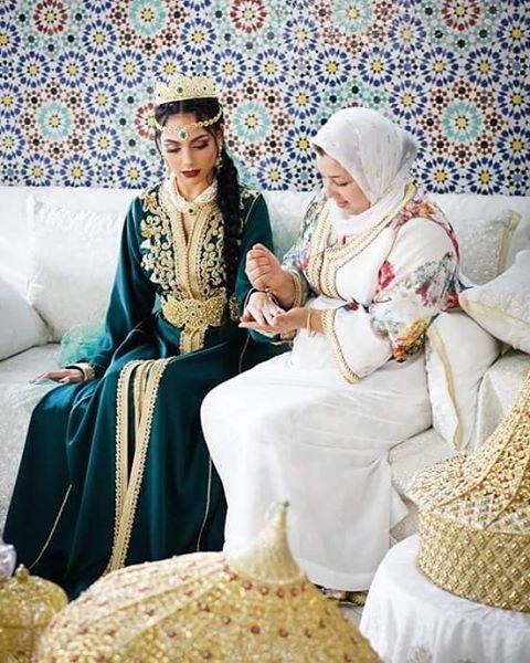 @miniloufi اللباس من Nour el houda couture #moroccancaftan #moroccantradition…