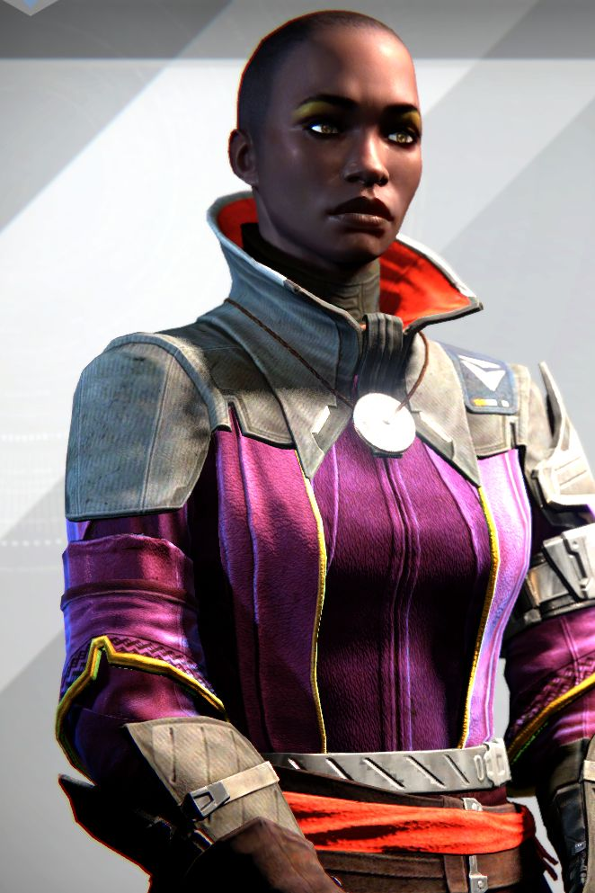 Ikora Rey Warlock Vanguard located in the Tower