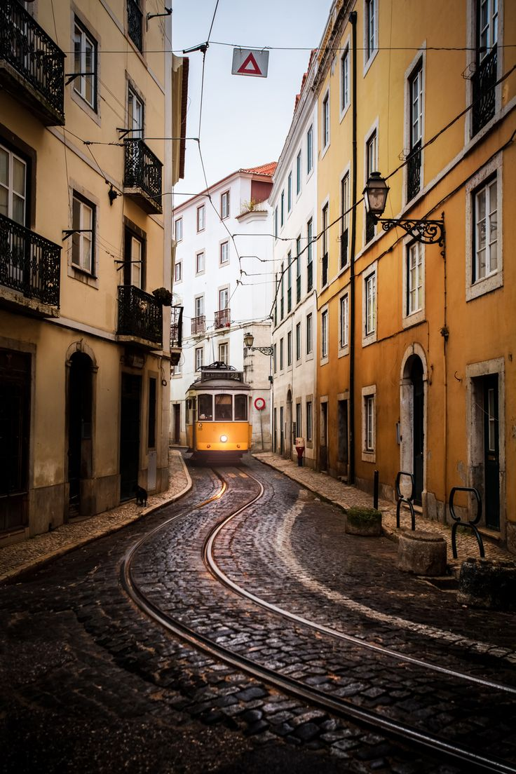 Lisbon, Portugal. Lisbon, Portugal  Situated on a series of hills over the Tagus River, Portugal's scenic capital is brimming with magnificent views, pastel-colored buildings and charming yellow streetcars.