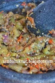 SAMBAL macam-macam: Resep Sambal : Sambal Kukus Terong