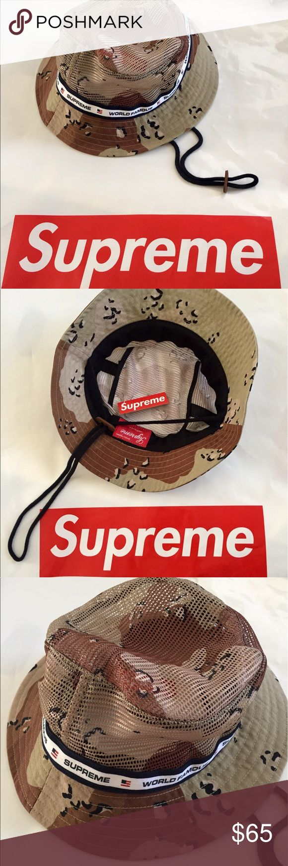 Supreme Bucket Hat Awesome supreme Camouflage bucket hat. Supreme Accessories Hats