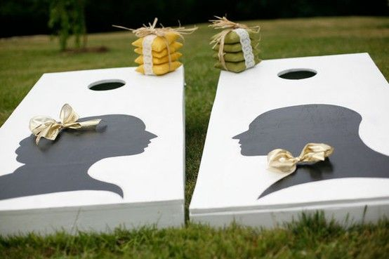 Games to play at your wedding | Offbeat BrideOutdoor Wedding, Corn Hole, Lawns Games, Wedding Games, Cute Ideas, Receptions Ideas, Beans Bags, Wedding Reception, Cornhole