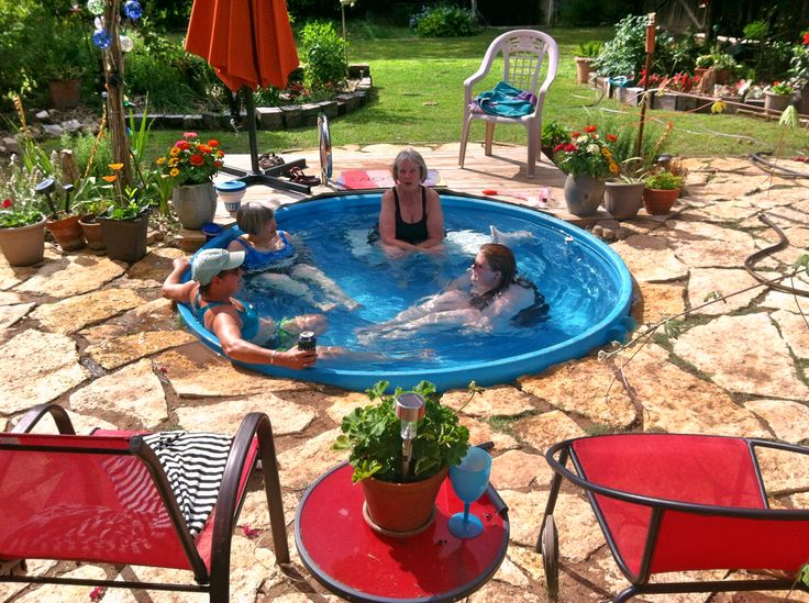 17 best images about garden ideas on pinterest best for Chicken in swimming pool
