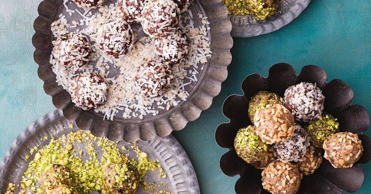 Have a ball with these sweet, on-the-go snacks that are free from refined sugar and gluten.