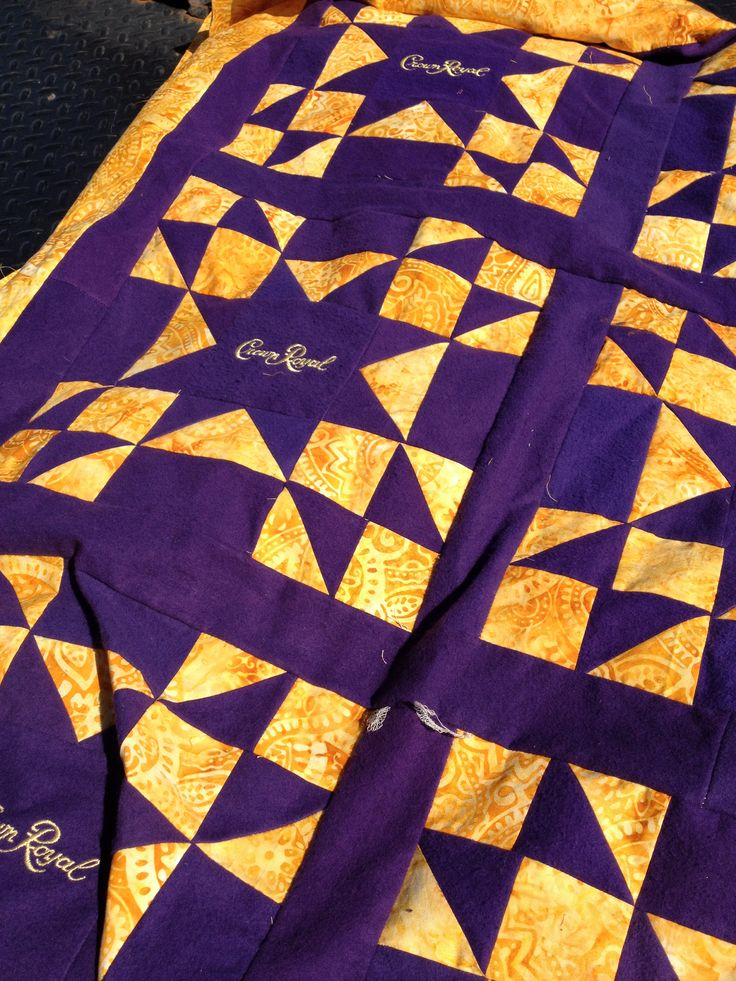 17 Best Crown Royal Quilt Images On Pinterest Crown