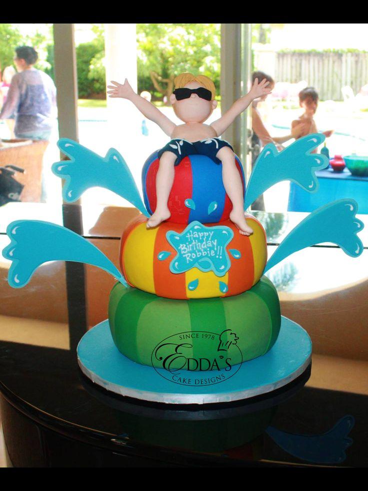 Cake Design By Edda Recipe : #Birthday #Cake - http://eddascakedesigns.com Birthday ...