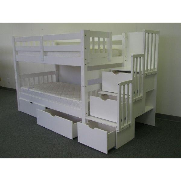 1000 ideas about under stair storage on pinterest stair storage under stairs and stairs - Loft bed with drawer stairs ...